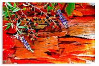 Colorful autumn leaves , Acrylic Print