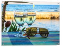 Summer still life , Acrylic Print
