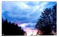 Sunset  , Acrylic Print