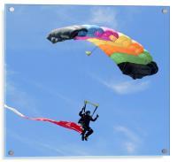 Parachutist, Acrylic Print