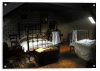 Vintage Bedroom, Acrylic Print