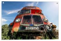 Double Decker Bus, Acrylic Print