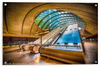 Architecture of Canary Wharf, Acrylic Print