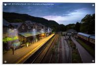 Train Station, Acrylic Print