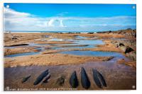 Seaside Ladscape, Acrylic Print