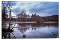 Evening Reflections, Acrylic Print