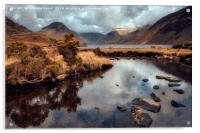 Fresh Water Landscape, Acrylic Print