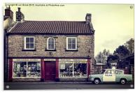 Aidensfield Store (Goathland), Acrylic Print
