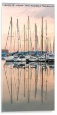 Evening at Shoreham Yacht Club, Acrylic Print