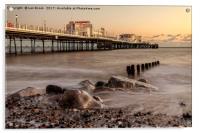 Worthing Pier Evening, Acrylic Print