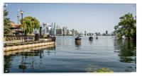 Toronto Islands View , Acrylic Print