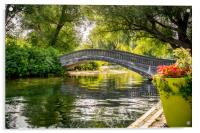 Bridge over troubled waters, Acrylic Print