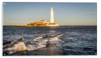 January day at the Lighthouse, Acrylic Print