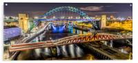 Bridge over the River Tyne, Acrylic Print