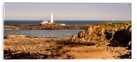 Our rugged coastline, Acrylic Print