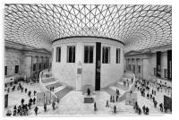 The British Museum London Classic View, Acrylic Print