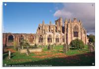 Melrose Abbey , Scotland, Acrylic Print