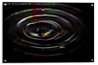 water drop, Acrylic Print