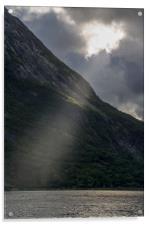 Ray of light, Acrylic Print