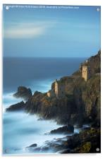 The Crowns, Botallack, Acrylic Print