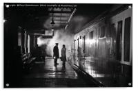 The late train...., Acrylic Print