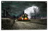 The Flying Scotsman, Acrylic Print