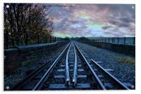East lancs railway, Acrylic Print