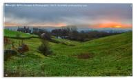 Birtle Greater Manchester, Acrylic Print