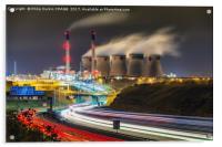 Ferrybridge Power Station, Acrylic Print