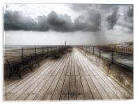Littlehampton pier, Acrylic Print