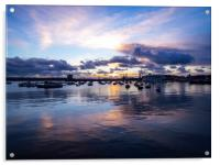 Falmouth Harbour , Acrylic Print