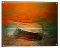 Sail away, sail away, sail away , Acrylic Print