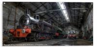 Tanfield Trains, Acrylic Print