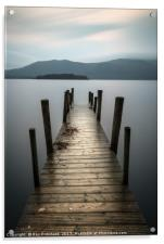 Hawes End Jetty, Acrylic Print