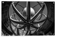 Swirl Pavilion , Acrylic Print