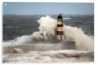 High Seas at Seaham, Acrylic Print
