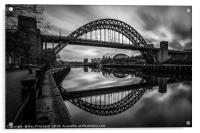 Tyne Bridge , Acrylic Print