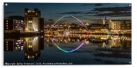 View up the River Tyne, Acrylic Print