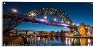 Tyne Bridge at Dusk, Acrylic Print