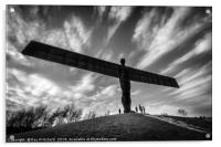 Angel of the North , Acrylic Print