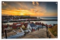 199 steps whitby., Acrylic Print