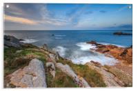 Guernsey Sunset , Acrylic Print