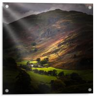 The lake district  , Acrylic Print