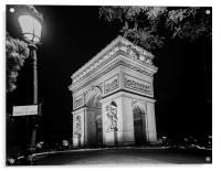 Arc de Triomphe PARIS, France , Acrylic Print