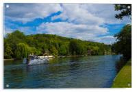 River Thames near Henley on Thames , Acrylic Print