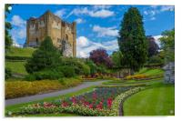 Guildford Castle Keep & Grounds ,Surrey England, Acrylic Print