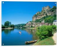 Beynac-et-cazenac, Dordogne, France., Acrylic Print