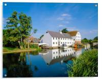 Hambleden Mill,Buckinghamshire, England, Acrylic Print