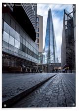 The Shard in London, Acrylic Print