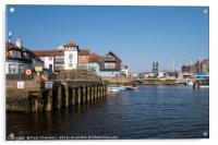 Lymington Quay, Acrylic Print